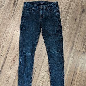 Mia & Moss Sabine skinny jeans dark acid wash
